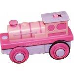 Bigjigs Růžová mašinka