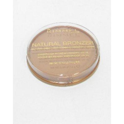 Rimmel London Natural Bronzer Waterproof Bronzing Powder SPF15 21 Sun Light 14 g