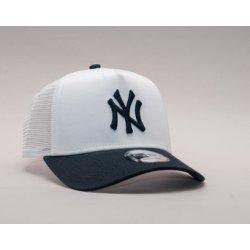 New Era League Essential New York Yankees 9FORTY A-FRAME TRUCKER Optic White    Navy bílá   modrá   modrá 450ea09724