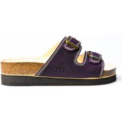 Dámská obuv JASNÝ zdravotní pantofle 2002 PKT2 fialová 5872fc2ae7
