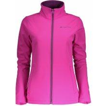 Alpine Pro Dámská dvouvrstvá softshellová bunda Mijaka růžová