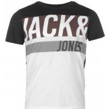 Jack & Jones Core Branded T Shirt Black