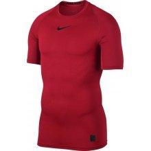 Nike Top s krátkým rukávem ČERVENÁ
