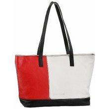 Bruno Banani taška černá-bílá-červená