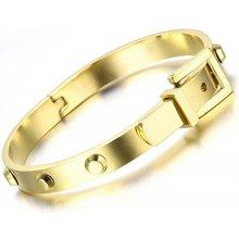 Troli pozlacený náramek KBS-463-GOLD