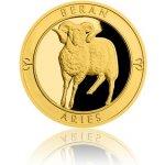 Česká mincovna Zlatý dukát Znamení zvěrokruhu s věnováním Beran 3,49 g
