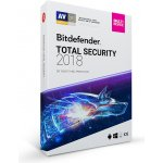 Bitdefender Total Security 2018 5 lic. 3 roky (CL11913005-EN)