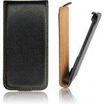 Pouzdro ForCell Slim Flip Samsung Galaxy S III mini Černé