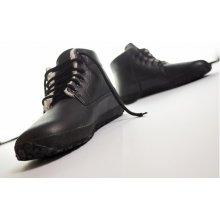 Ahinsa shoes Kotníčková Sundara zimní s membránou černá