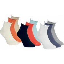dámské módní kotníkové ponožky RS mix barev