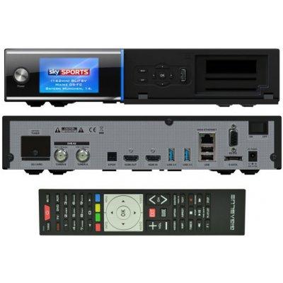 GigaBlue UHD Quad 4K (1x dual DVB-S2X FBC + 1x dual DVB-T2C)