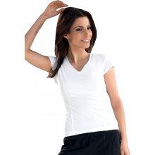 Fitnes tričko gracia bílá