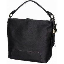 Prostorná kabelka JBFB108B černá