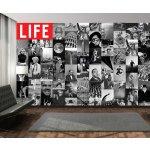 1Wall časopis LIFE Kreativní koláž 64 dílů 37,5 x 27,5cm