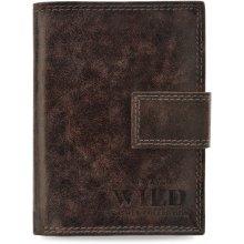 7b92d0d6818b6 Wild Always Pánská peněženka always se svislou svorkou hnědá
