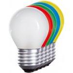 Wojnarowscy LED koule E27 230V 1W červená