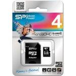 Silicon Power microSDHC 4GB Class 4 SPMSDHCC44GB-SP004GBSTH004V10-SP