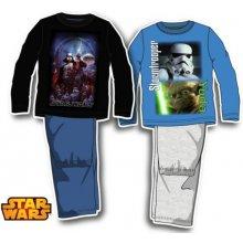 Sun City chlapecké pyžamo Star Wars černo modré