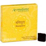 Indie Aromafume vonné cihličky 7 Čaker Manipura 9 ks