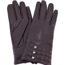 6ad9e8af1f2 Coveri Collection dámské kožené rukavice tmavě hnědá