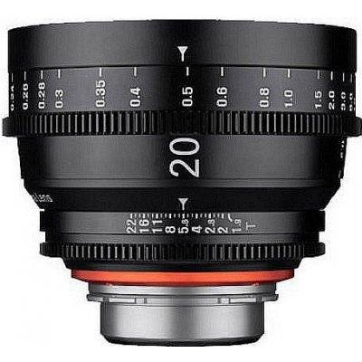Samyang Xeen 20mm T1.9 Canon EF