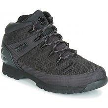 Timberland Kotníkové boty Euro Sprint Fabric WP Černá 2988da7ccc