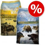 Taste of the Wild High Prairie Canine & Pacific Stream Canine 2 x 13 kg