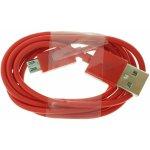 Omega OUPVC3MR USB/micro, 1m, červený