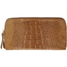 ESTELLE dámská kožená peněženka 0984 koňak