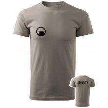 Tričko Black Mesa SECURITY Force světle šedá