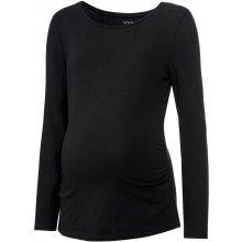 Esmara dámské těhotenské triko s dlouhými rukáv černá
