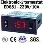 SFYB ED681 220V/10A 999C°- průmyslový regulátory teploty pro vytápění a inkubátory