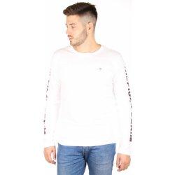 5959d8127c Tommy Hilfiger pánské bílé tričko s dlouhým rukávem alternativy ...