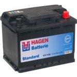 Hagen 12V 55Ah 460A 55558