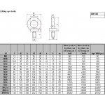 M30x2,00 Šroub závěsný C15 - DIN 580 / ČSN 21369 / ISO 3266 15030.18.00.300.200