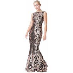 c6f13b92867 Goddiva luxusní večerní dlouhé šaty zlatá alternativy - Heureka.cz