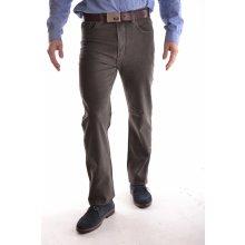 Dockhouse pánské elastické kalhoty D1037-4 zelené P77 009fe250e7