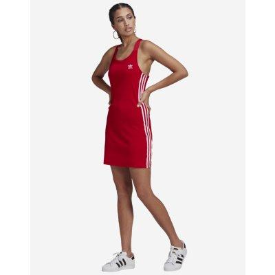 Adidas Originals dámské šaty Adicolor Classics Racerback červená