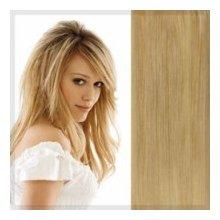 Clip in vlasy 38 cm - perleťová blond #22