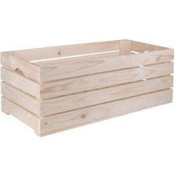 8cb7e84db Úložný box ČistéDřevo Dřevěná bedýnka 60 x 30 x 24 cm