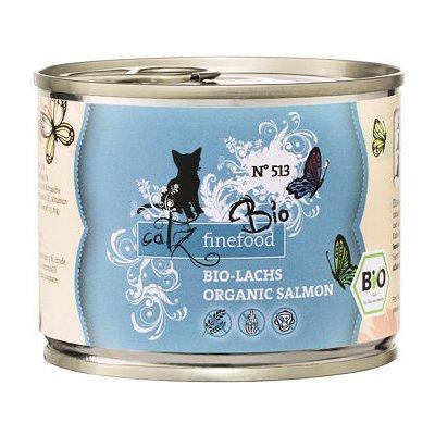 Catz finefood CF Bio No.513 s lososem 200 g