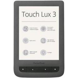 PocketBook 626 Touch Lux 3, 6E-ink s nasvietením Tmavo šedá