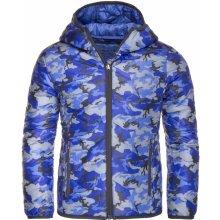 Alpine Pro Almo KJCK091 dětská bunda světle modrá