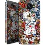 Pouzdro i-Paint HARD CASE Tattoo Samsung Galaxy A5 2016 farebné motív