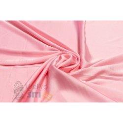 1a8b1b243793 Metráž - polyesterové hedvábí spandex SV. RŮŽOVÁ 88240 43 - látka na šaty a  halenky