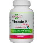 Natural SK Vitamín B1 100mg 100 kapslí