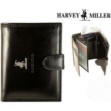 Harvey Miller 3820 PL04 pánská kožená peněženka černá