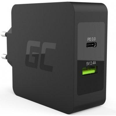 Adaptér USB-C 45W PD s kabelem USB-C a USB port pro Asus ZenBook, HP Spectre, HP