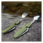 HL Camping Cutlery Set v noži