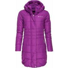 Dámský zimní kabát Alpine Pro OMEGA FIALOVÁ